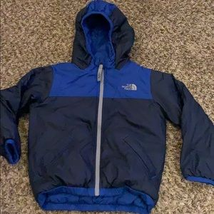 Toddler THE NORTH FACE Reversible Blue JACKET 4T